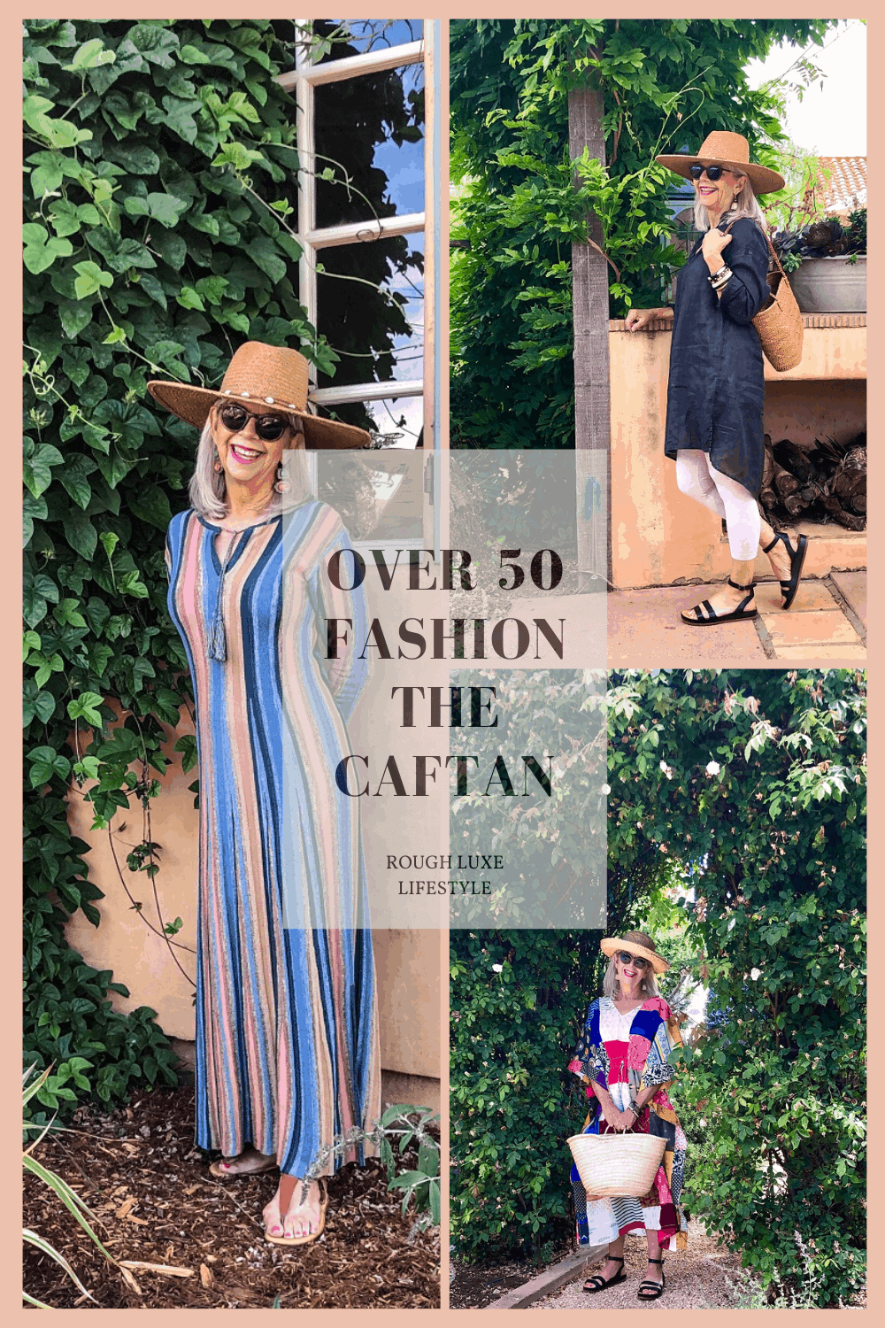 Over 50 Fashion-The Caftan Can We Wear It