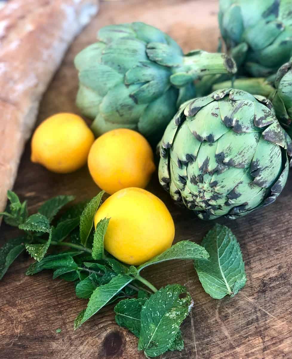 Progressive Barbeque-Grilled Artichokes with Meyer Lemon Aioli