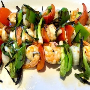 Cindy Hattersley's Shrimp and Scallop Kebobs