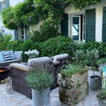 A Charming French Garden