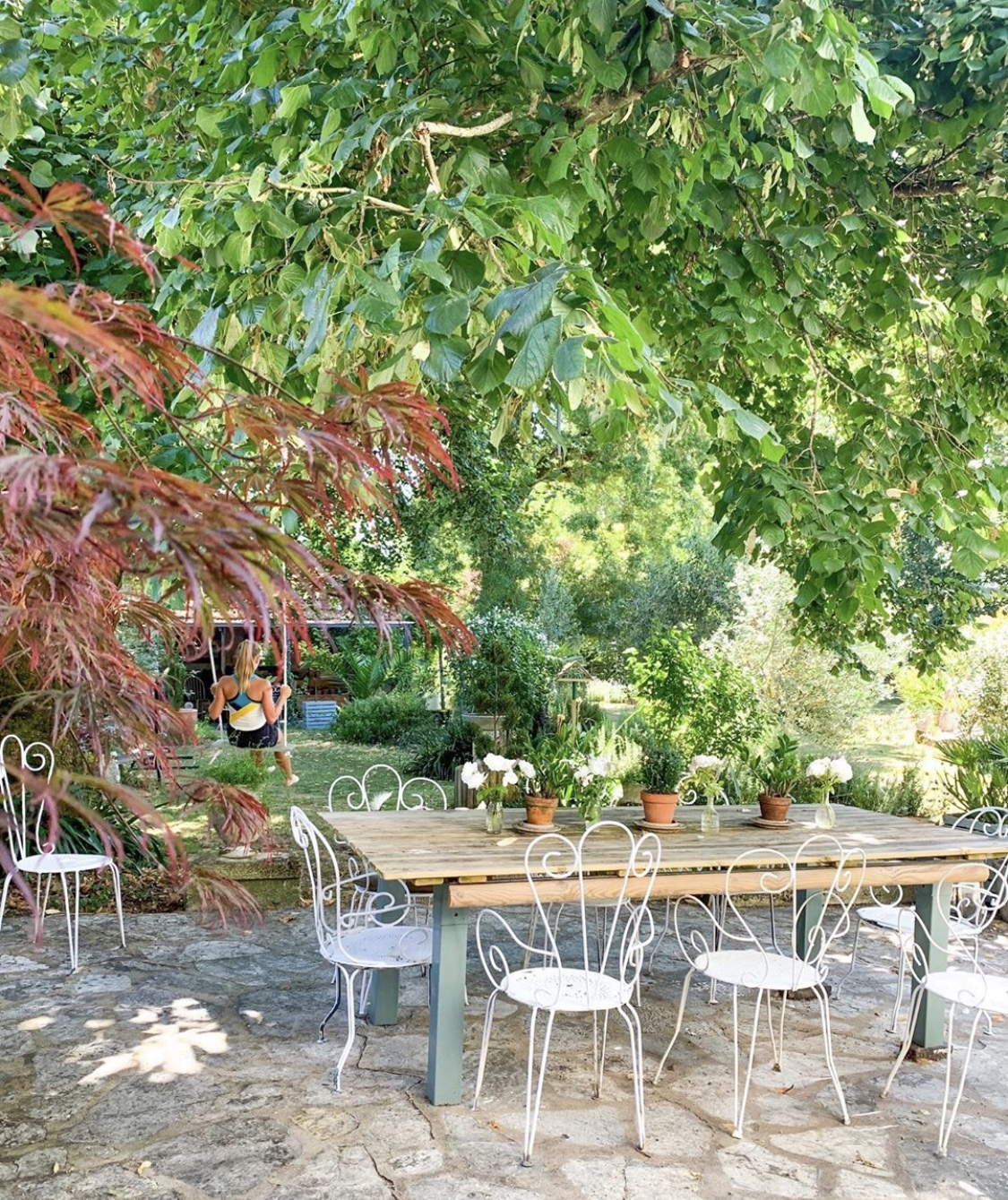 French Outdoor Room