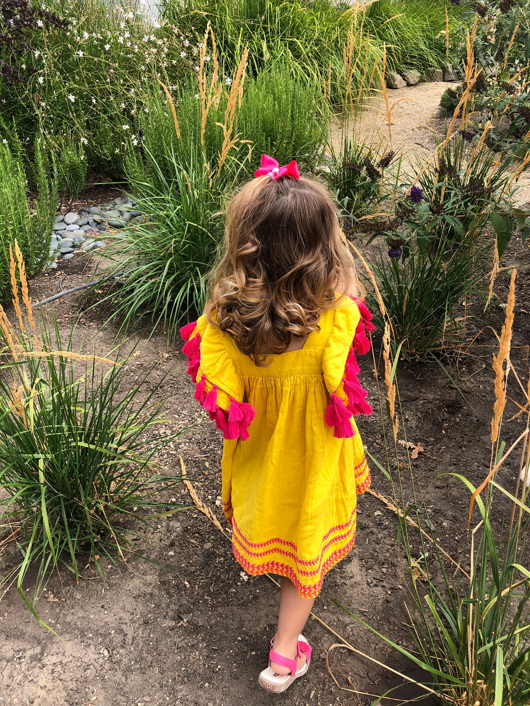Over 50 Fashion Blogger Cindy Hattersley's granddaughter Summer in Mer St Barth & See Kai Run