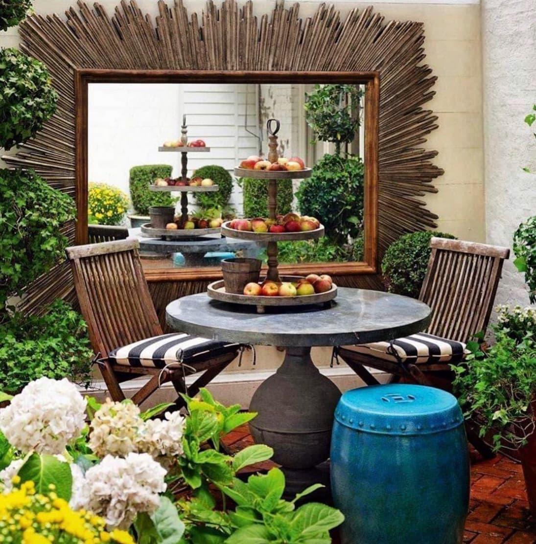 cj swank instagram collected garden room