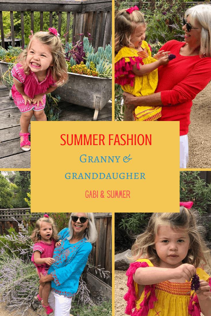 Fashion Over 50 Granny & Granddaughter