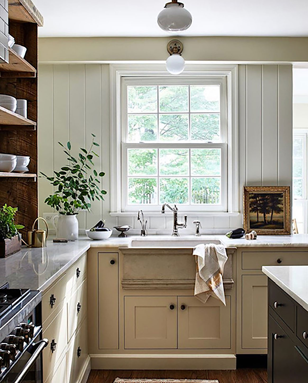 lauren liess designed kitchen on cindy hattersley's blog