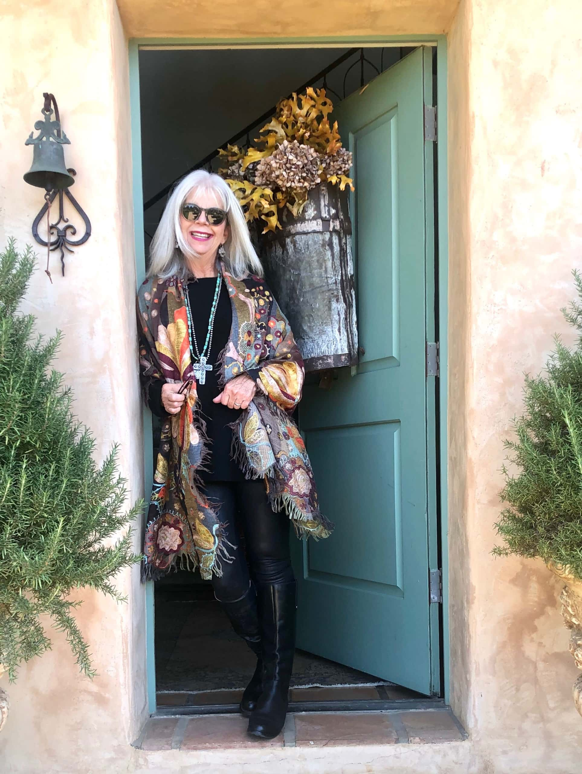 Fashion Over 50 Blogger Cindy Hattersley how to style one outfit six ways