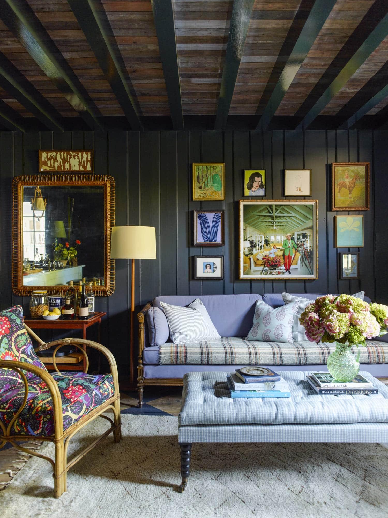 GP Schafer designed mill valley home living room