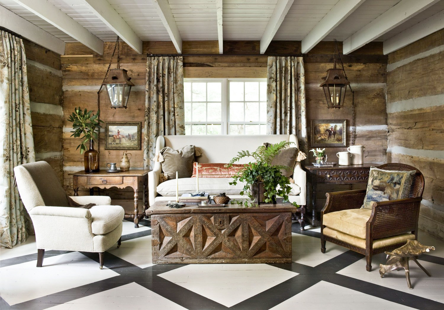 Tammy Connor Cashiers Showhouse on Cindy Hattersley's blog
