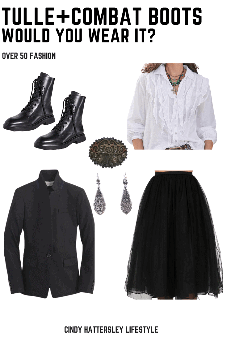 Tulle & Combat Boots Would you Wear It_