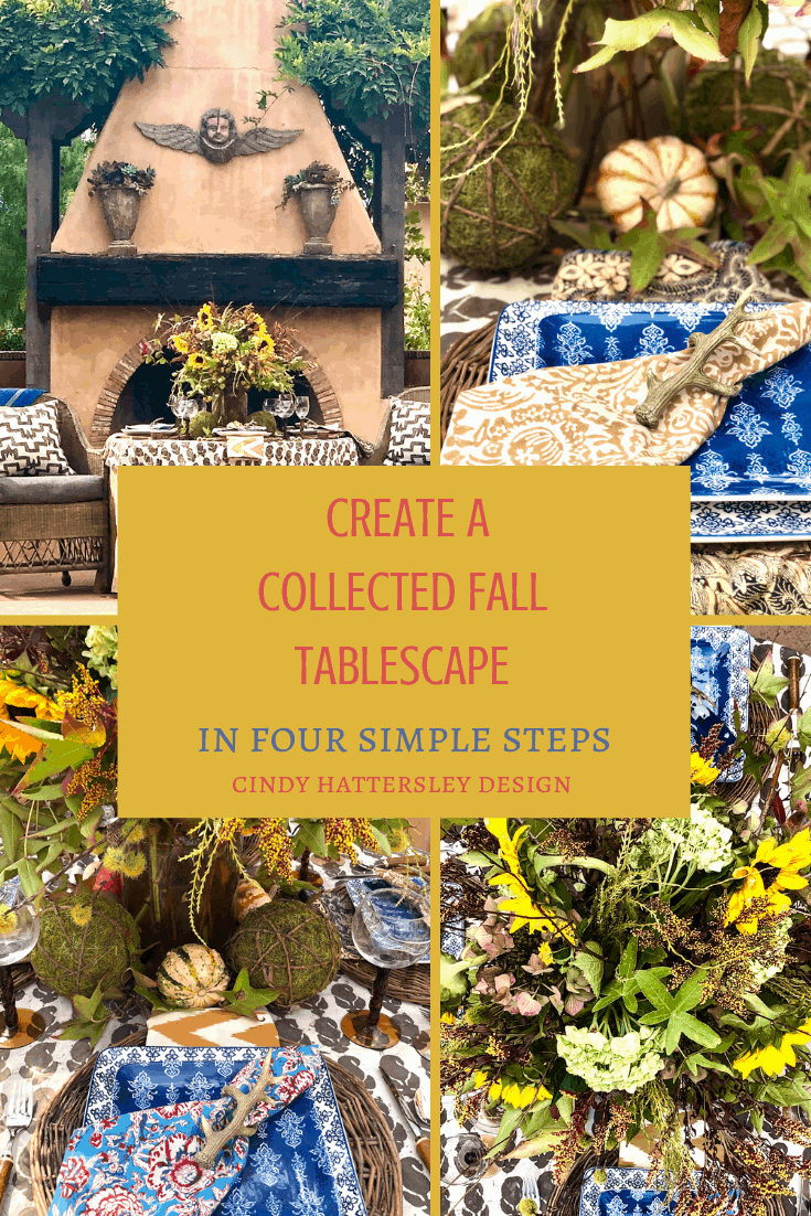 How to Create a Collected Fall Tablescape Cindy Hattersley Design