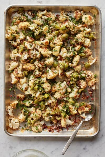 melissa clarks roasted cauliflower from nytimes cooking