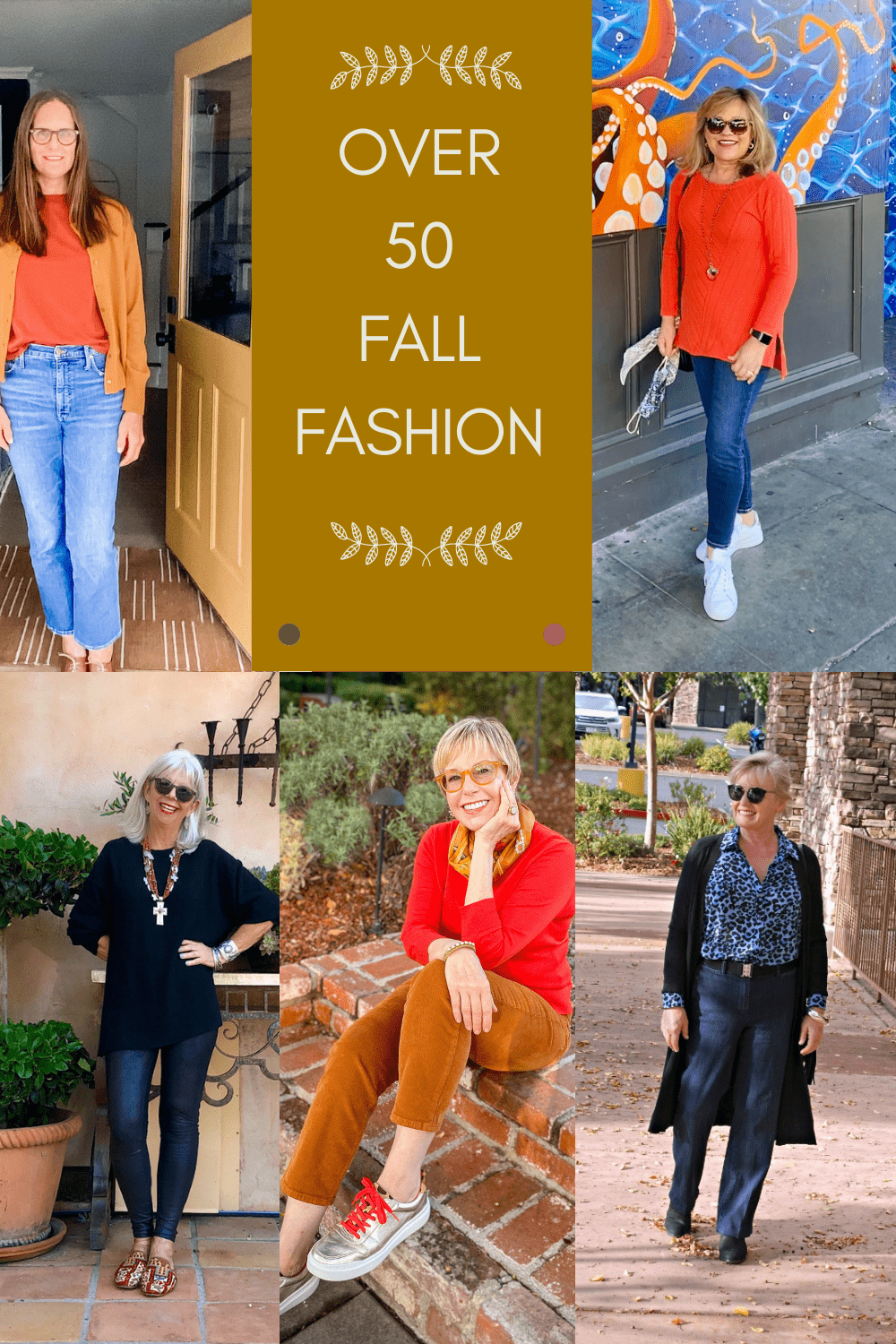 Over 50 fall fashion we can actually wear