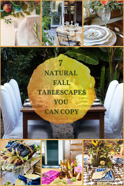 seven festive fall tablesca