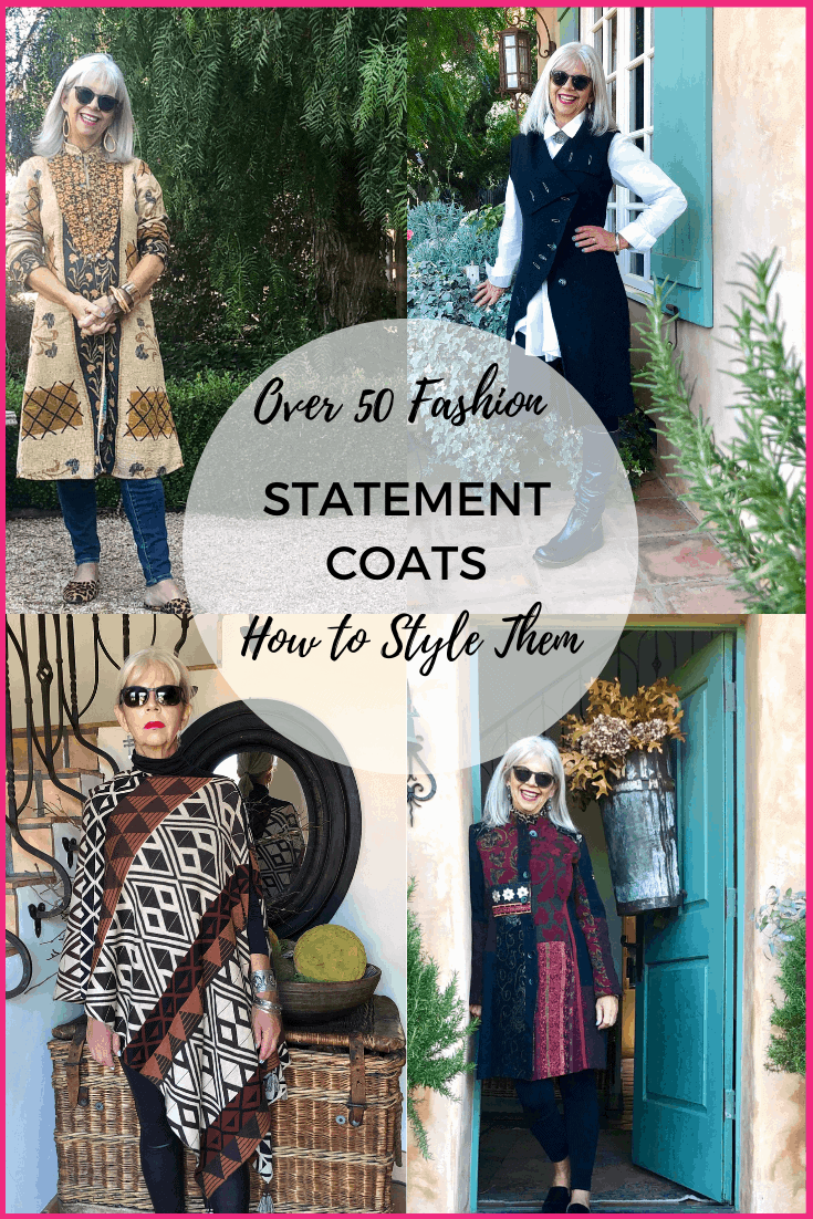 How to Wear a Statement Jacket Over 50