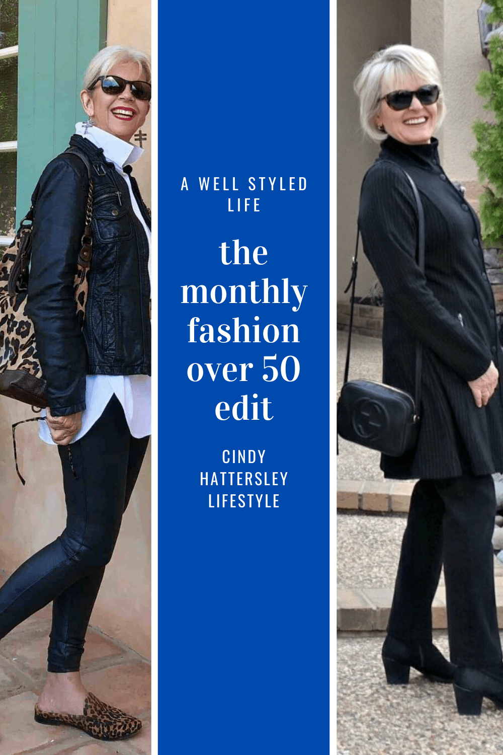 The Monthly Fashion over 50 Edit with A well style d Life and Cindy Hattersley