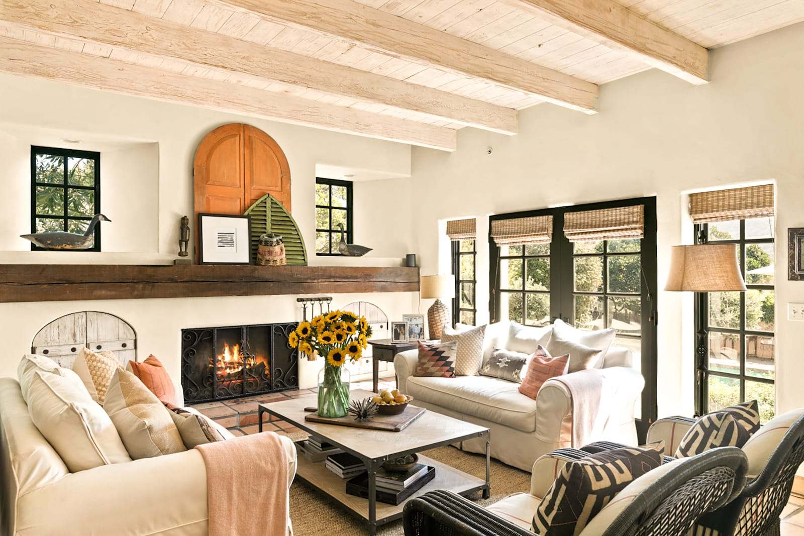 cindy hattersley's great room in her california home