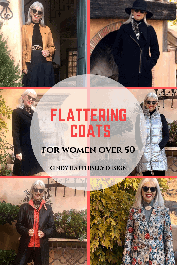 Flattering Coats for Women Over 50 Cindy Hattersley