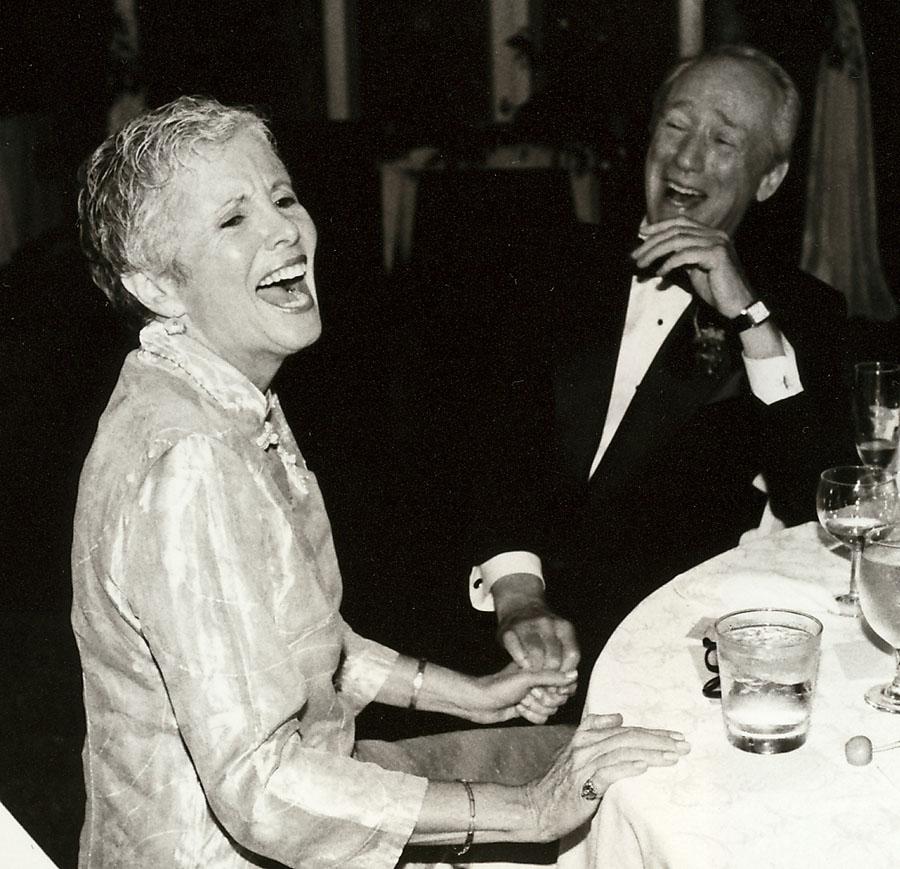 Sandra and Bob Sallin