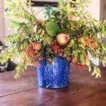 Cornbread Stuffing and DIY Foraged Floral Arrangement
