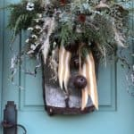 How to Decorate your Front Porch for Christmas Using Natural Elements