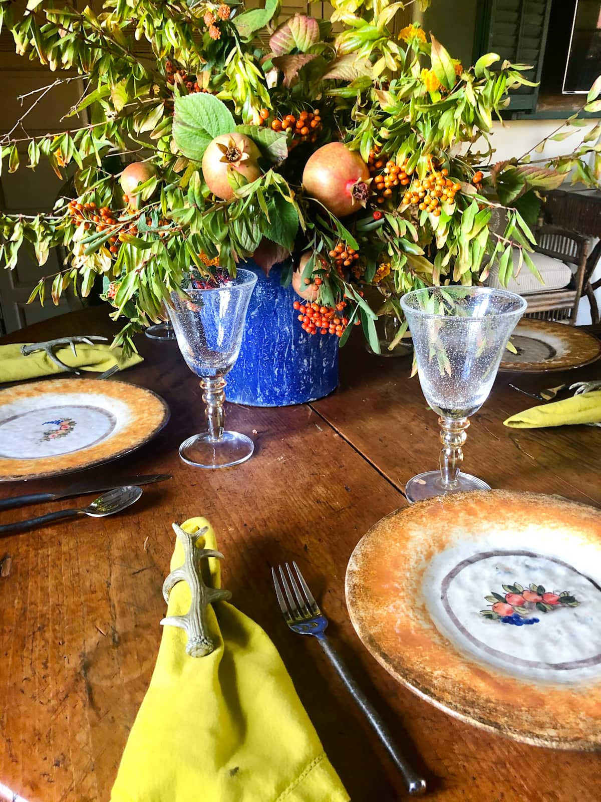 cindy hattersley simple fall table