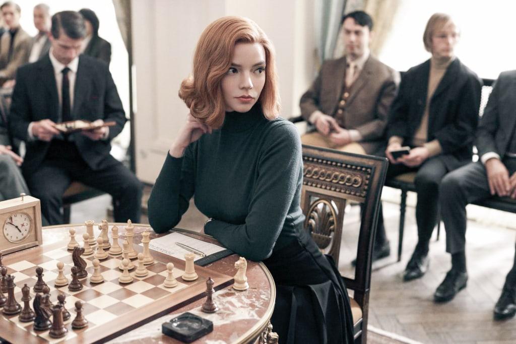 The Queens Gambit on Netflix