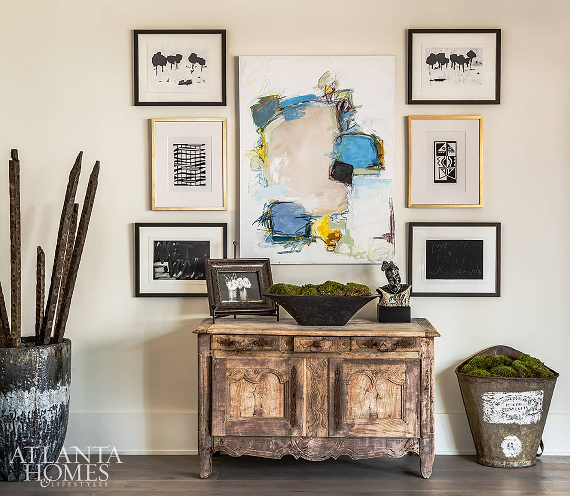 Atlanta Homes and Lifestlyles Serenne Showhouse Lorraine Enright Design on Cindy Hattersley's blog