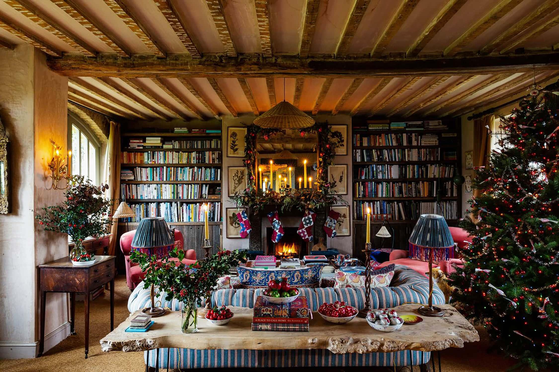 Amanda Brooks Christmas in House and Garden UK
