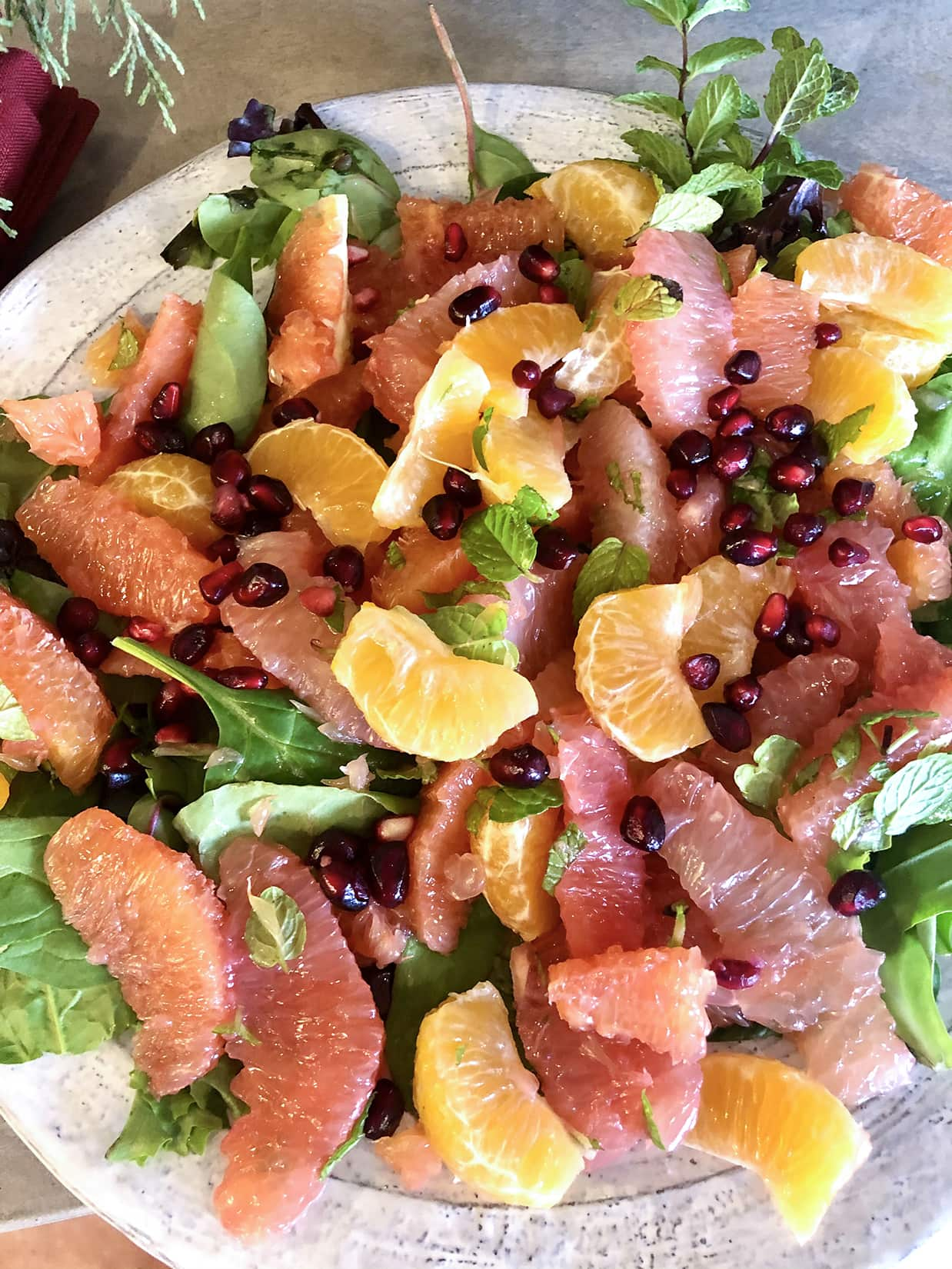 Citrus Salad from a Sweet Mess on Cindy Hattersley's blog
