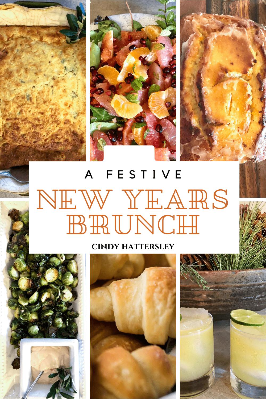 festive new years brunch on cindy hattersley's blog