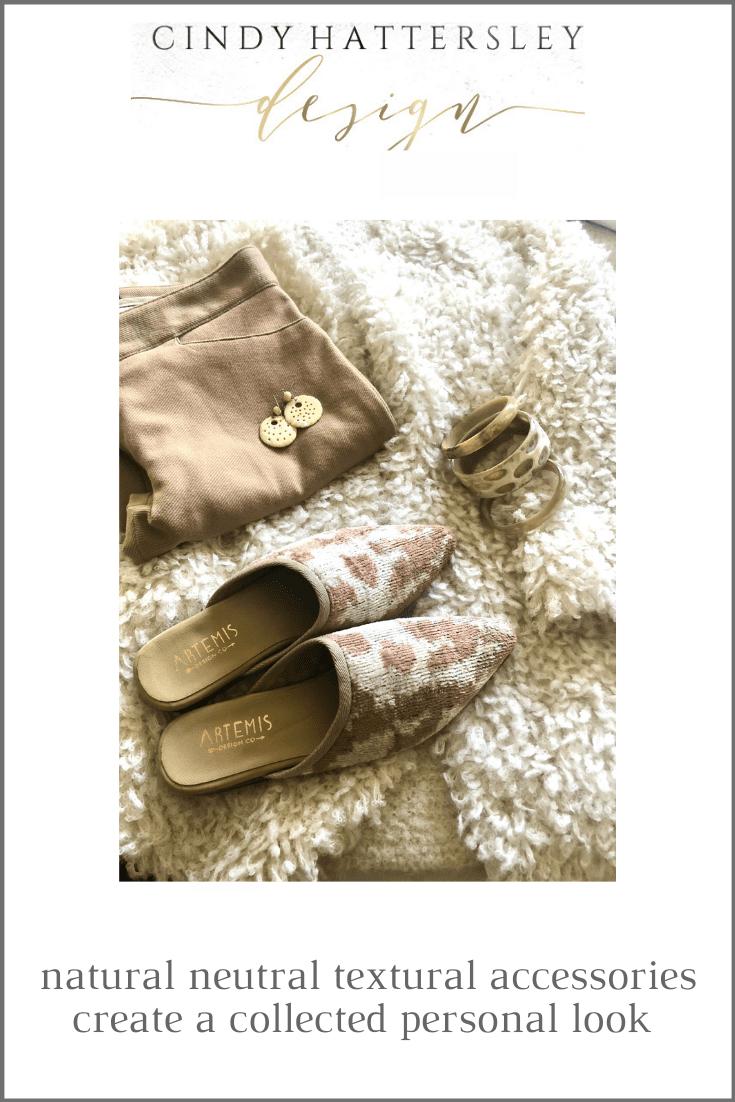 natural neutral textural accessories