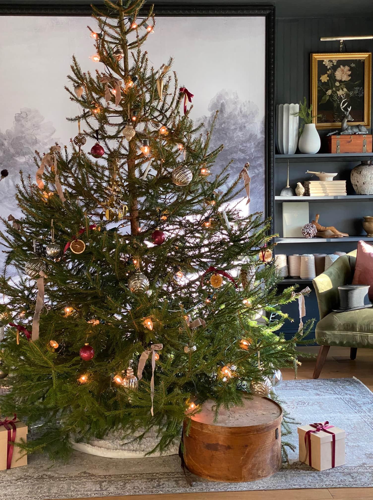 seeking lavendar lane christmas tree