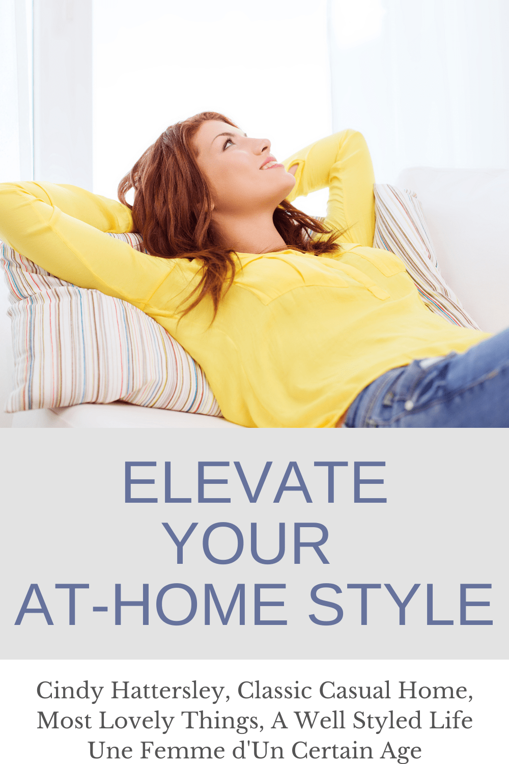 ELevate your at home style