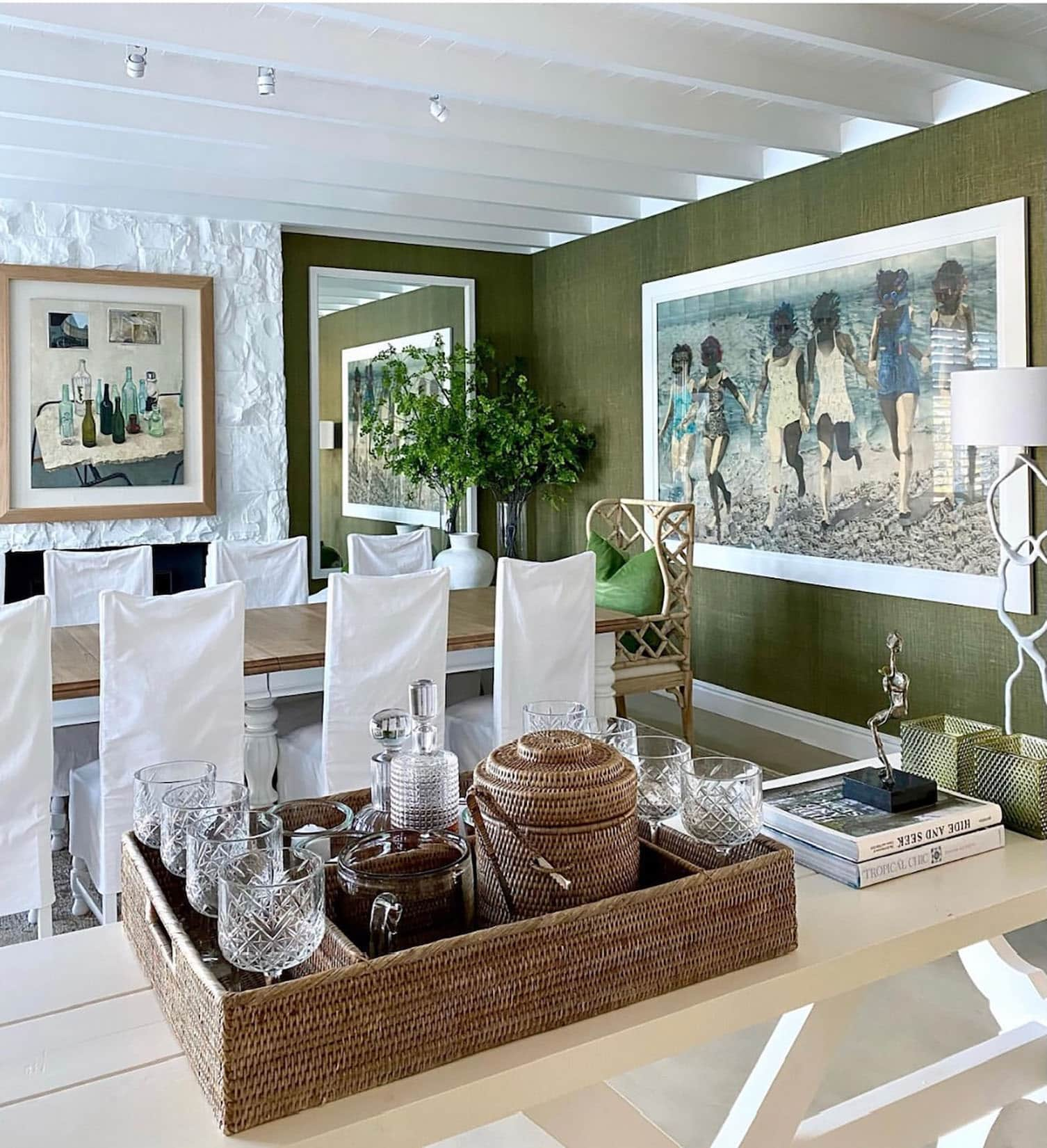 sue bond's dining room on the Western Cape
