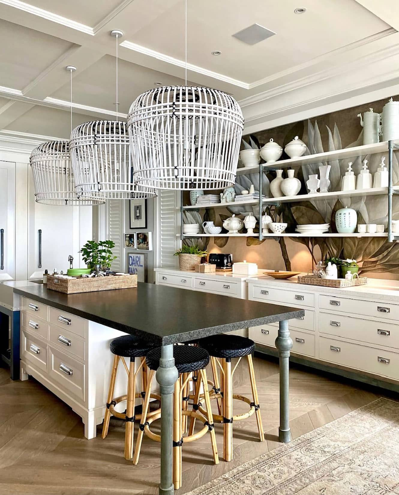 Sue Bond's Thesans Island Kitchen