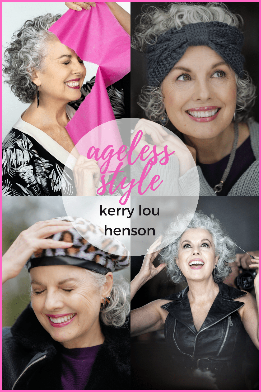 Ageless Style Kerry Lou Henson on Cindy Hattersley's blog for Ageless Style