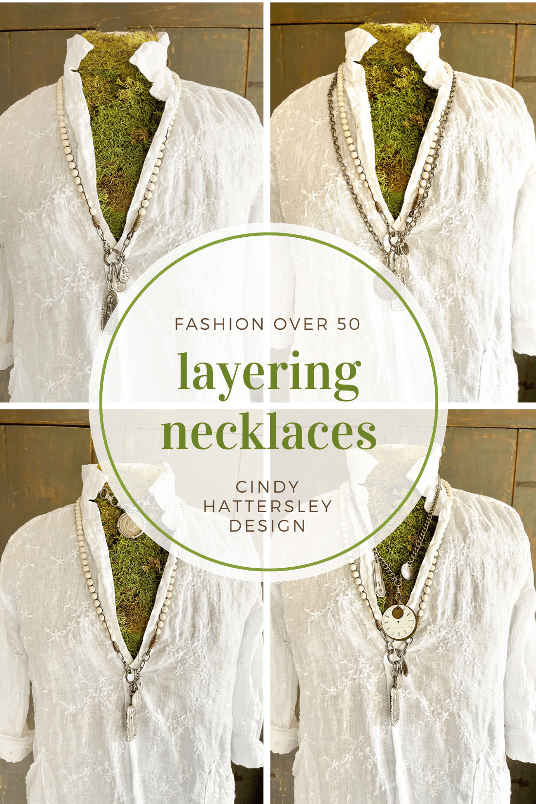 LAYERING NECKLACES CINDY HATTERSLEY DESIGN