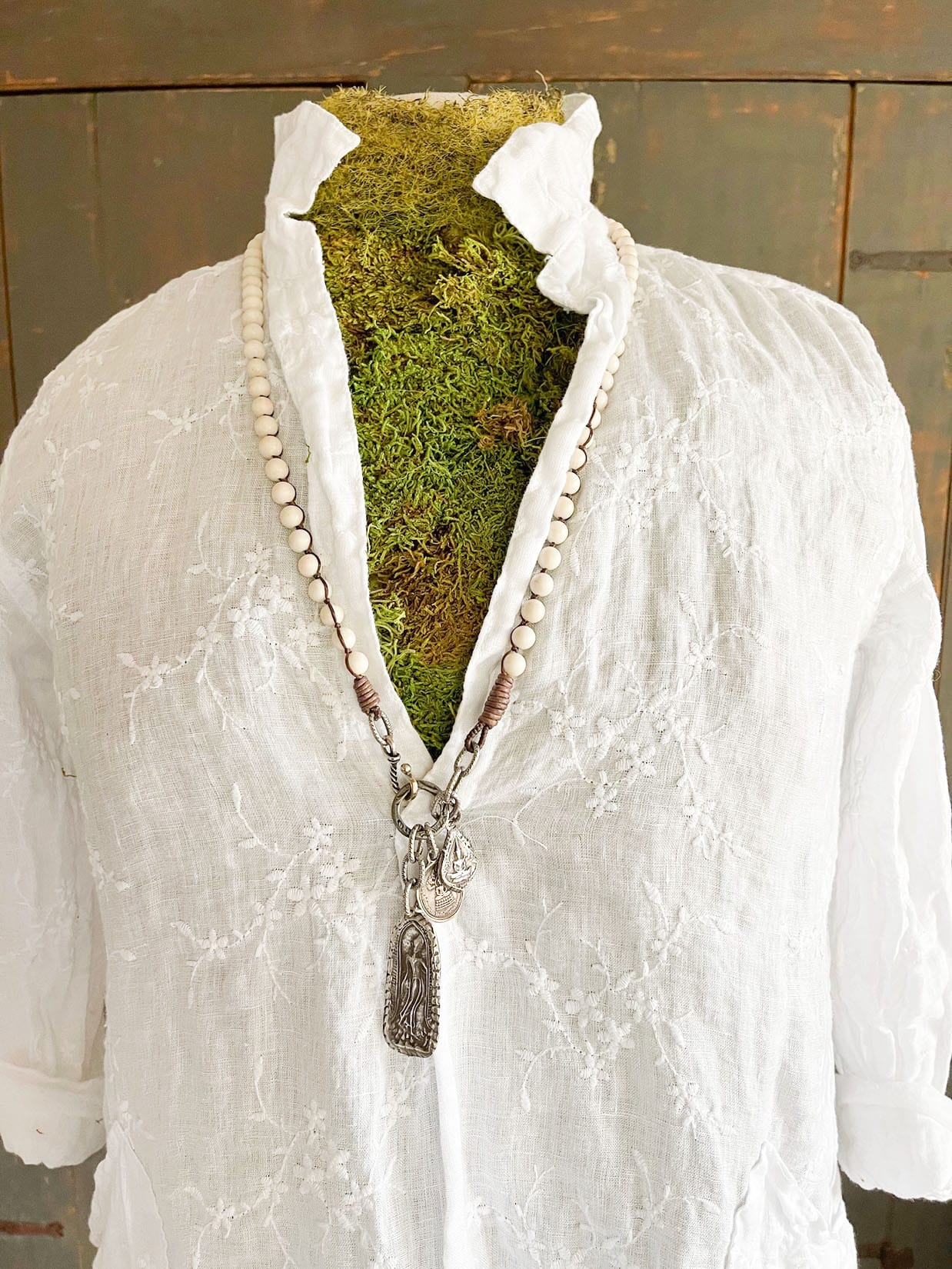 CP Shades Shirt with Paula Carvalho Necklace on Cindy Hattersley's blog