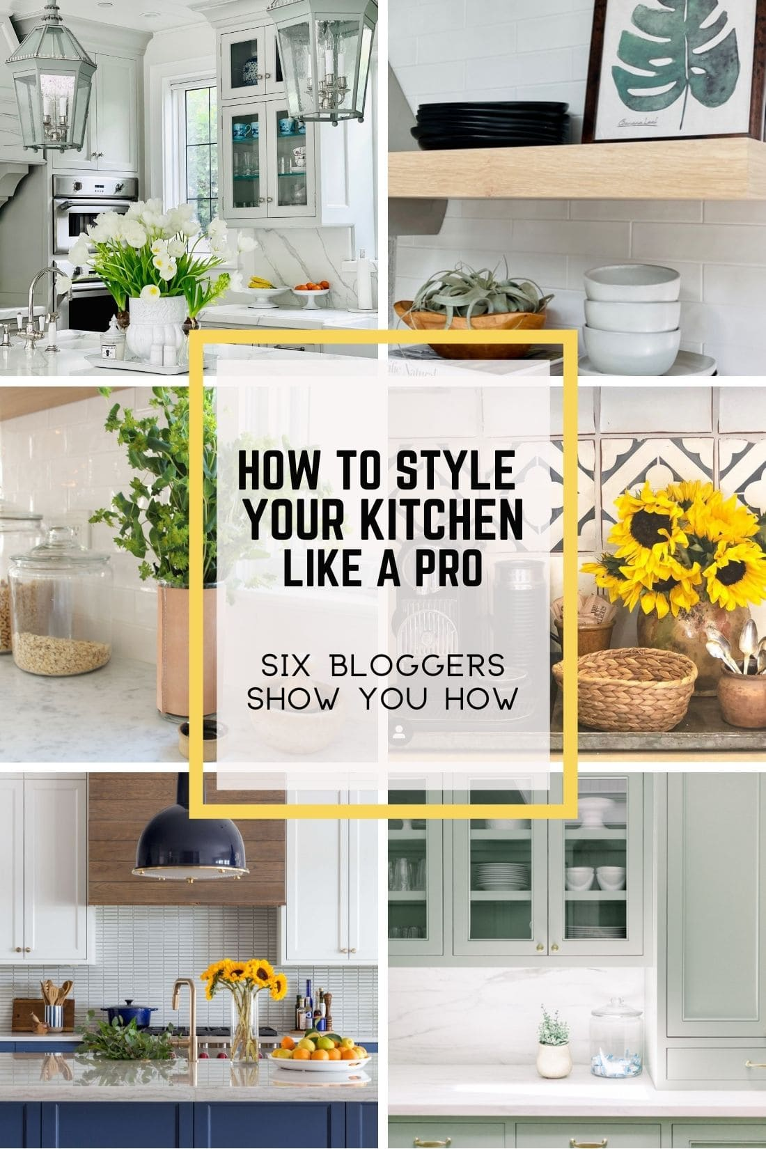 how to style your kitchen like a pro