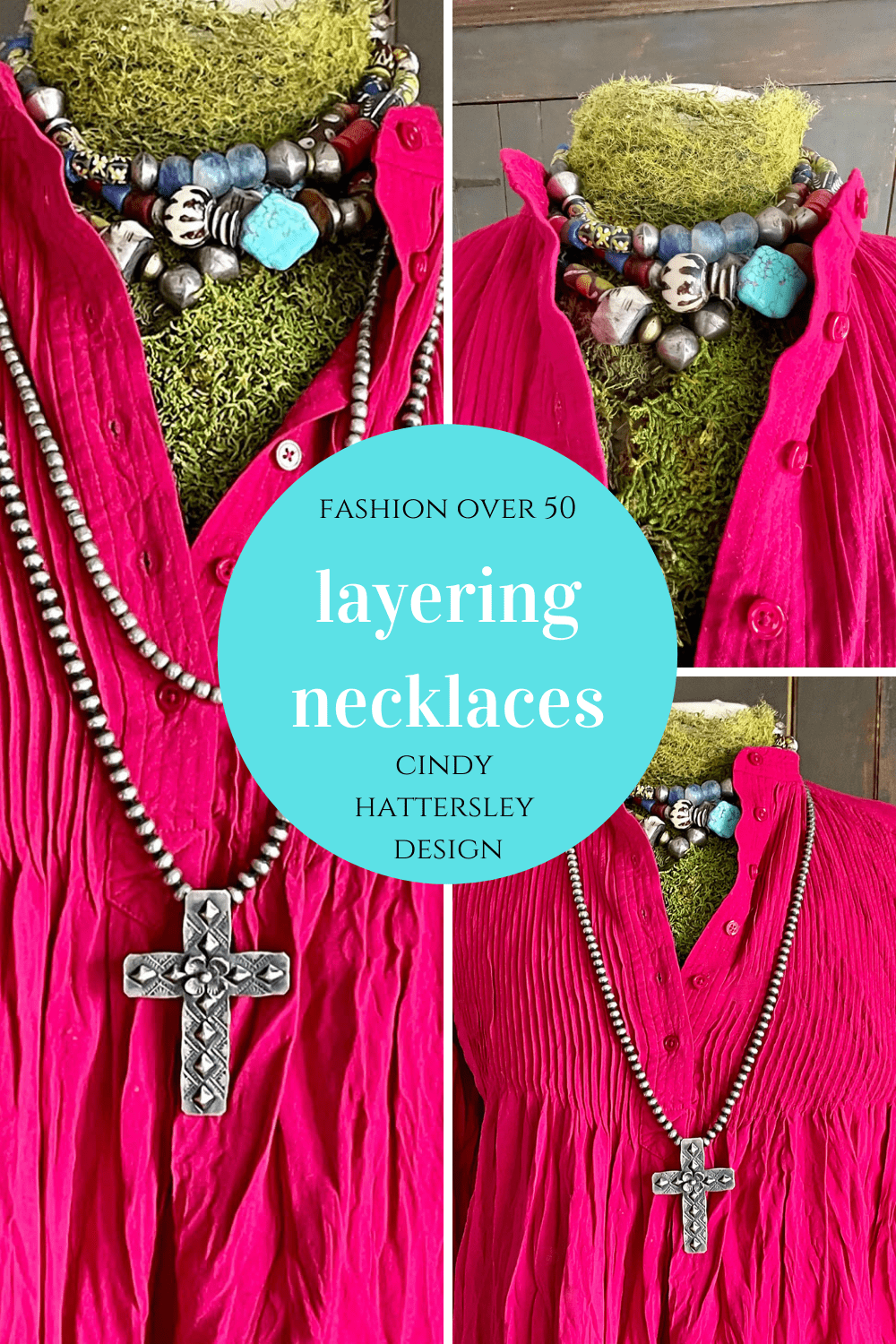 how to layer necklaces cindy hattersley design