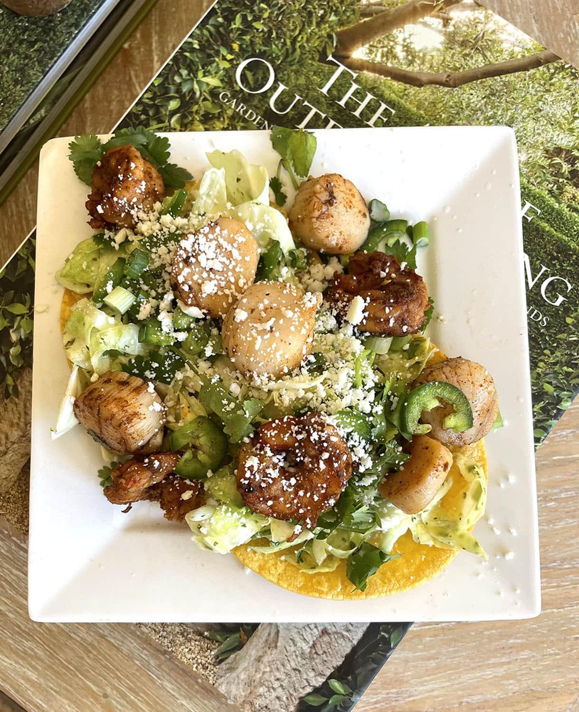 Pinch of Yum Garlic Lime Cilantro Shrimp Tacos