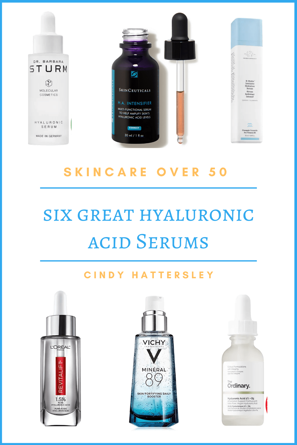 six great hyaluronic acid serums