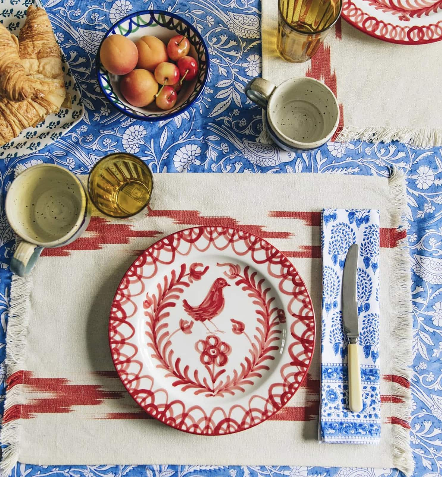 the mews tablescape