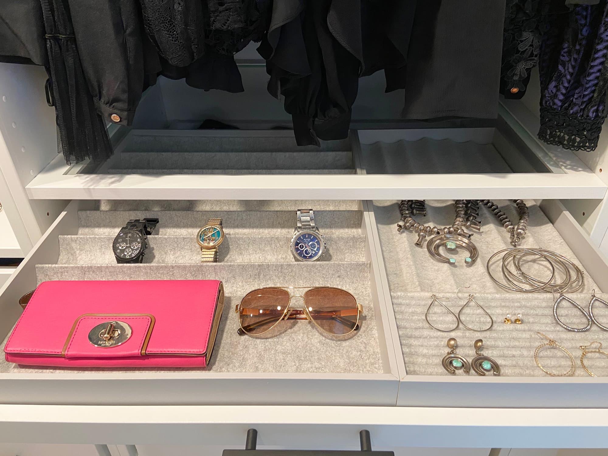 Ikea pax system jewelry drawer