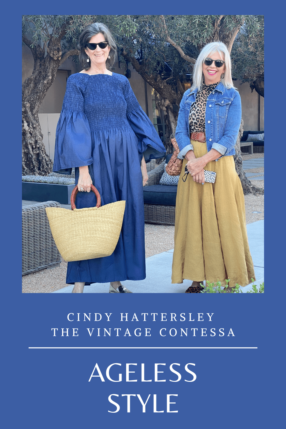 Ageless Style Cindy Hattrersley and the Vintage Contessa