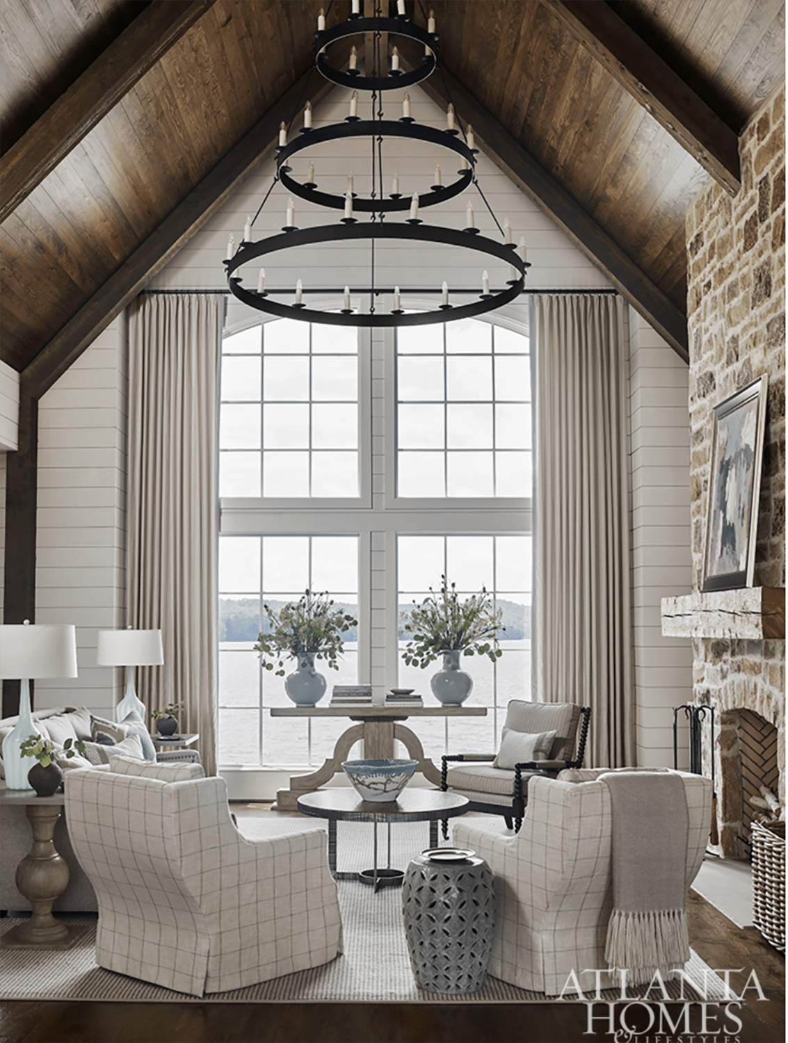Liz Williams Designed Lake Martin home