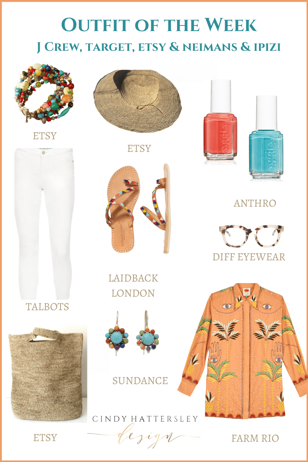 FARM RIO OUTFIT OF THE WEEK