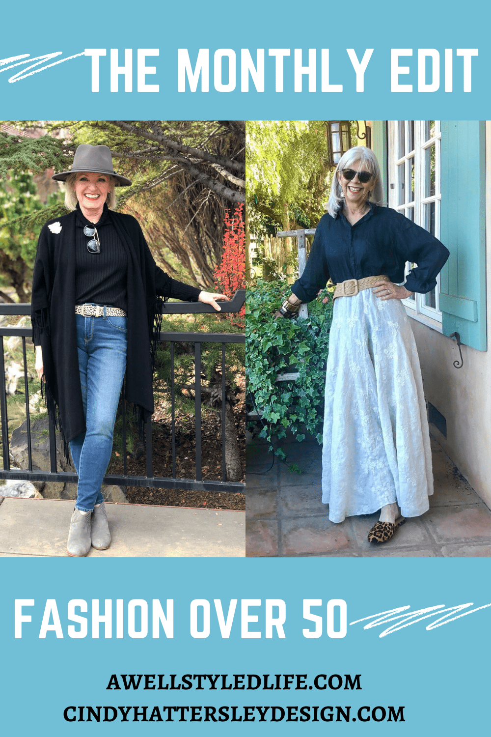 the monthly fashion edit with Cindy & Jennifer