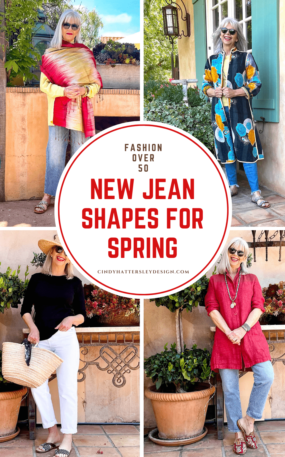 NEW JEANS SHAPES for Spring