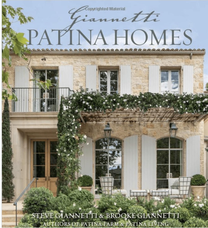 PATINA HOMES BOOK
